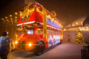 Winter Wonderland London Bus