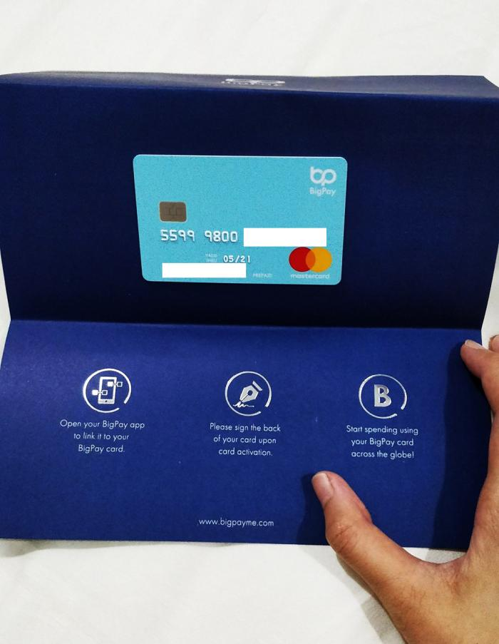 Big Pay card